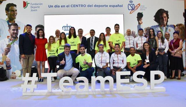 Méndez de Vigo reconoce a los medallistas olímpicos y paralímpicos en Río 2016