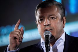 """El partido gobernante en Georgia proclama su """"gran"""" victoria en las legislativas"""