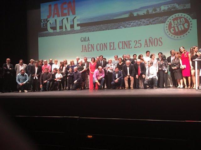 Gala de Jaén con el cine. 25 años