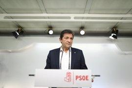 Javier Fernández dice que el Comité Federal para decidir si el PSOE se abstiene será la tercera semana de octubre