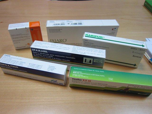 Tipos de vacunas para viajar a países en desarrollo.