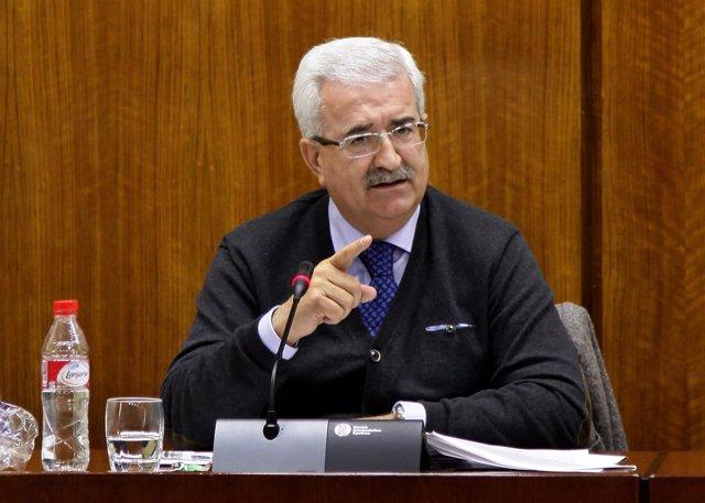 Manuel Jiménez Barrios, en comisión