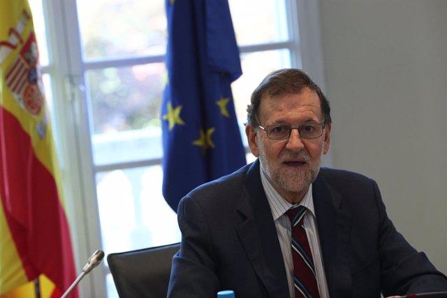 Rajoy preside la reunión de la Comisión Delegada para Asuntos Económicos