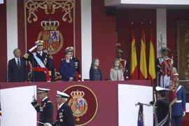 Puigdemont, Urkullu y Barkos repiten ausencia en el desfile del 12 de octubre
