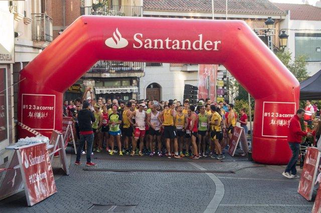 Carrera Solidaria Santander Colmenar Viejo
