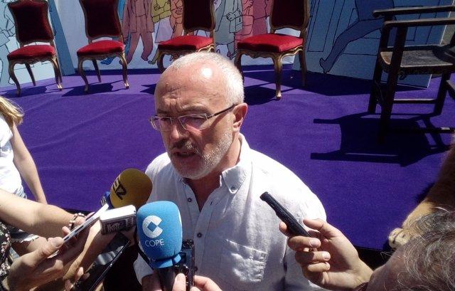 Montiel Atiende A Los Medios Este Domingo En Elx