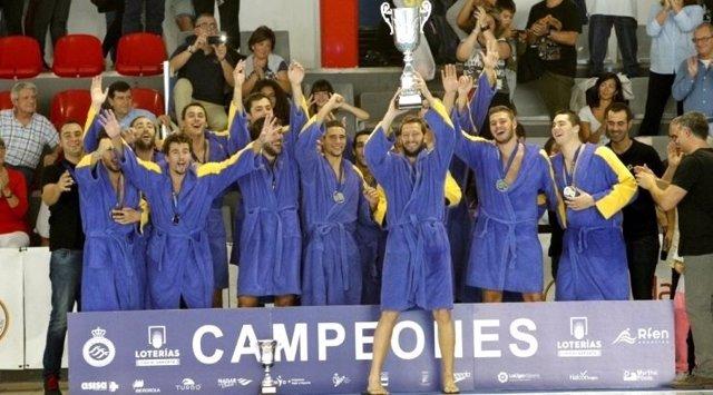 Atlétic-Barceloneta campeón Supercopa España waterpolo