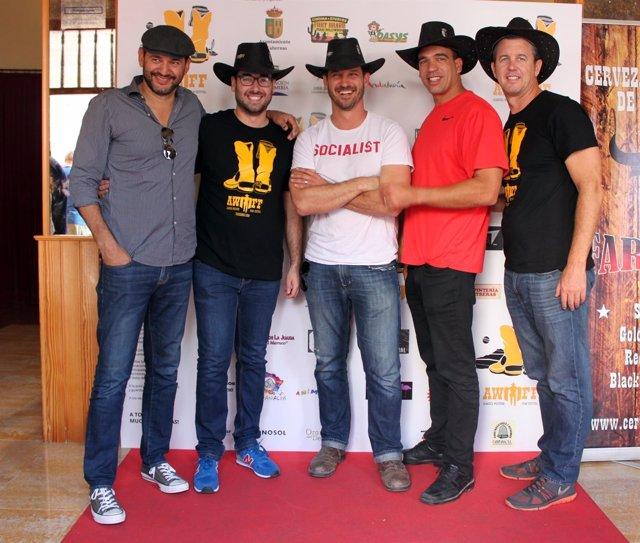 Estreno en Tabernas (Almería) de la película 'Outlaws & Angels'