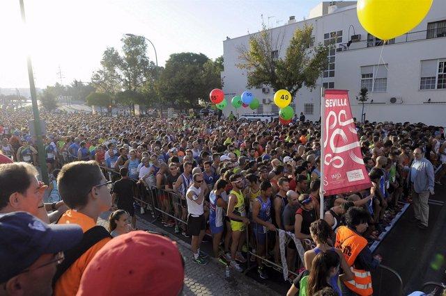 Sevilla 09 10 2016 Carrera Popular Parque Miraflores.FOTO J.M.PAISANO