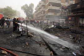 Cinco muertos en un atentado de Estado Islámico contra una celebración chií en Bagdad