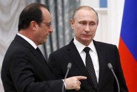 El Kremlin sigue preparando la visita de Putin a Francia, tras los comentarios de Hollande