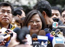 La presidenta de Taiwán pide a China un proceso de conversaciones sobre sus disputas