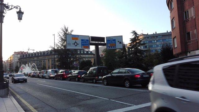 Tráfico en Oviedo, tráfico, carretera