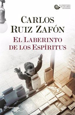 Portada de 'El laberinto de los espíritus' de Carlos Ruiz Zafón
