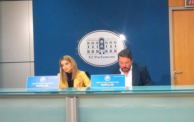 PP en rueda de prensa