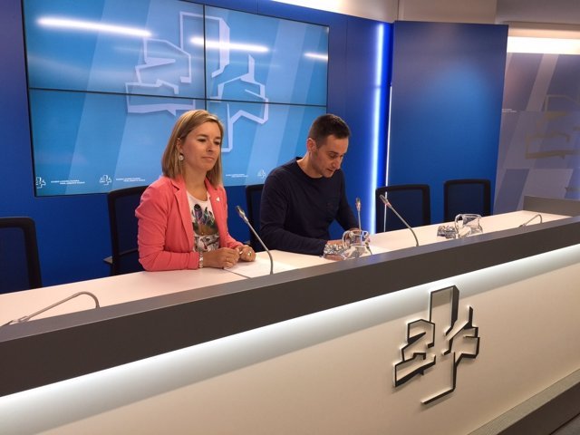 Iker Casanova y  Aitziber Ibaibarriaga