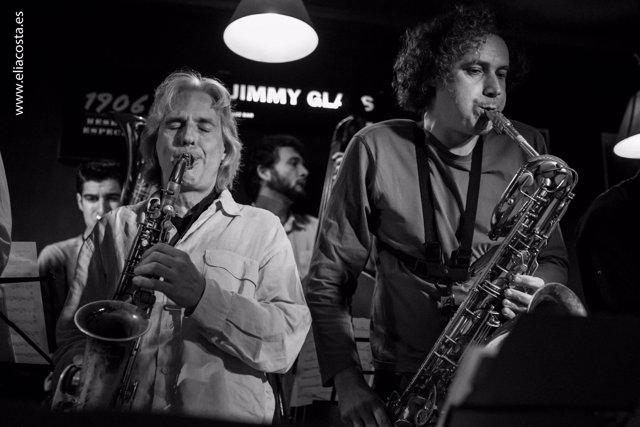 Latino y Sambeat en Jimmy Glass Jazz