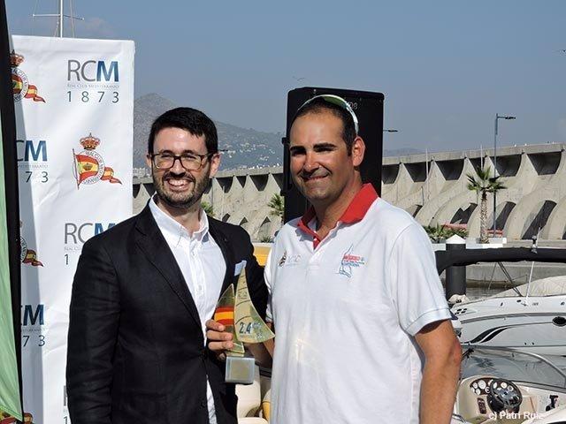 Antonio Maestre, ganador del IV Circuito Iberdrola de Vela Paralímpica