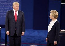 Clinton también se impone a Trump en el segundo debate presidencial