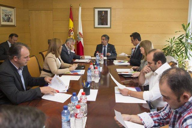 Reunión de la Comisión Intertadministrativa del Año Jubilar