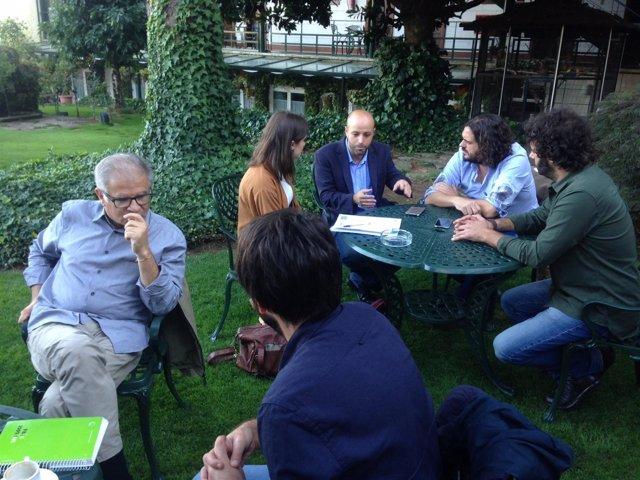 Reunión de En Marea Con Villares