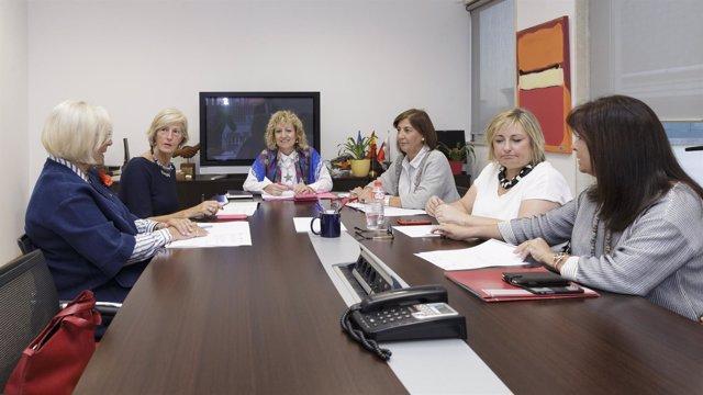 Díaz Tezanos preside la reunión del patronato de la Fundación