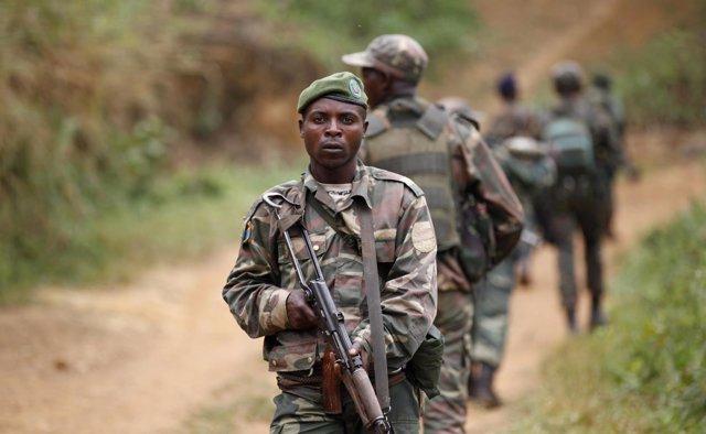 Militar del Ejército de República Democrática del Congo.