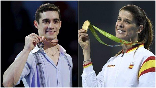 Javier Fernández y Ruth Beitia, Premios Nacional del Deporte