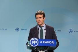 """El PP dice """"no, no y no"""" a la oferta de Puigdemont para pactar el referéndum y avisa que cumplirán la ley con """"firmeza"""""""