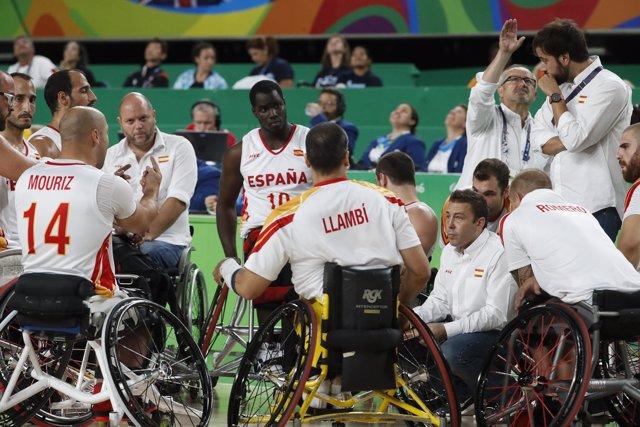 Selección española masculina de baloncesto paralímpico