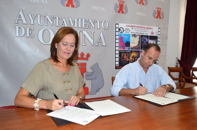 Osuna Sevilla Recupera La Proyección De Cine De Estreno