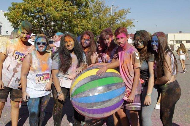 Rainbow Run en Mairena del Aljarafe.