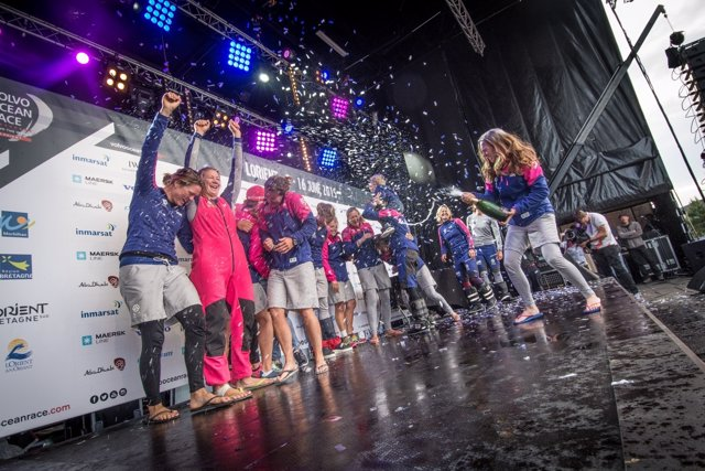 Team SCA Volvo Ocean Race