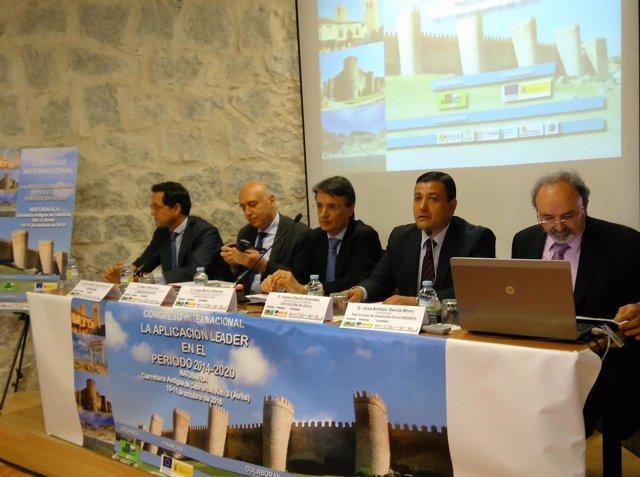 Inauguración del Congreso 'La aplicación Leader en el periodo 2014-2010'