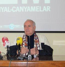 José Luis Moreno durante la rueda de prensa