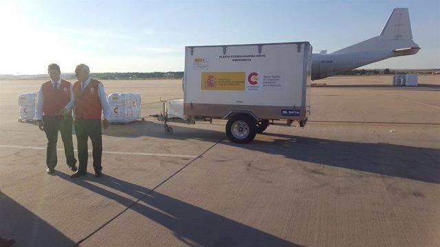 España envía ayuda humanitaria a Haití