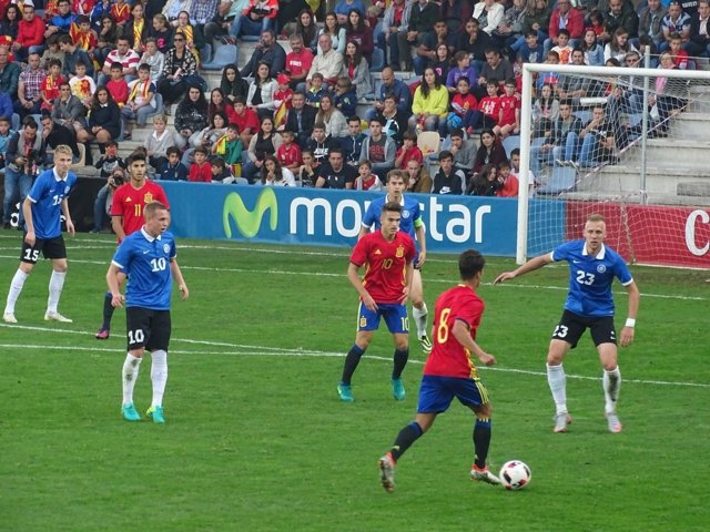 Selección española Sub-21 Estonia España Pasarón Pontevedra