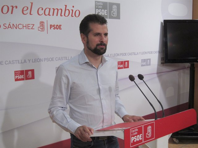 El secretario general del PSCyL, Luis Tudanca
