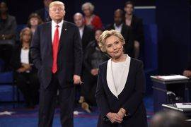 El segundo 'cara a cara' entre Trump y Clinton pierde tirón