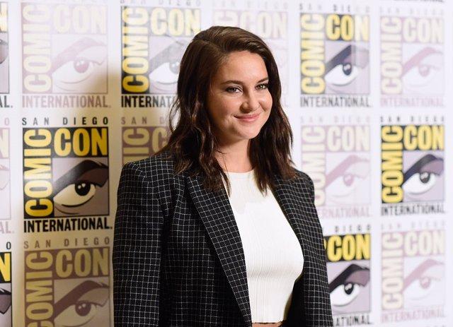 Shailene Woodley en la Comic Con