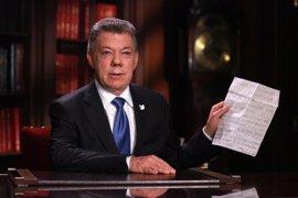 """Santos afirma que Colombia conseguirá una """"paz completa"""" tras anunciar la fase pública de diálogo con el ELN"""