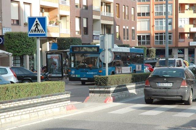 Autobús urbano de Camargo