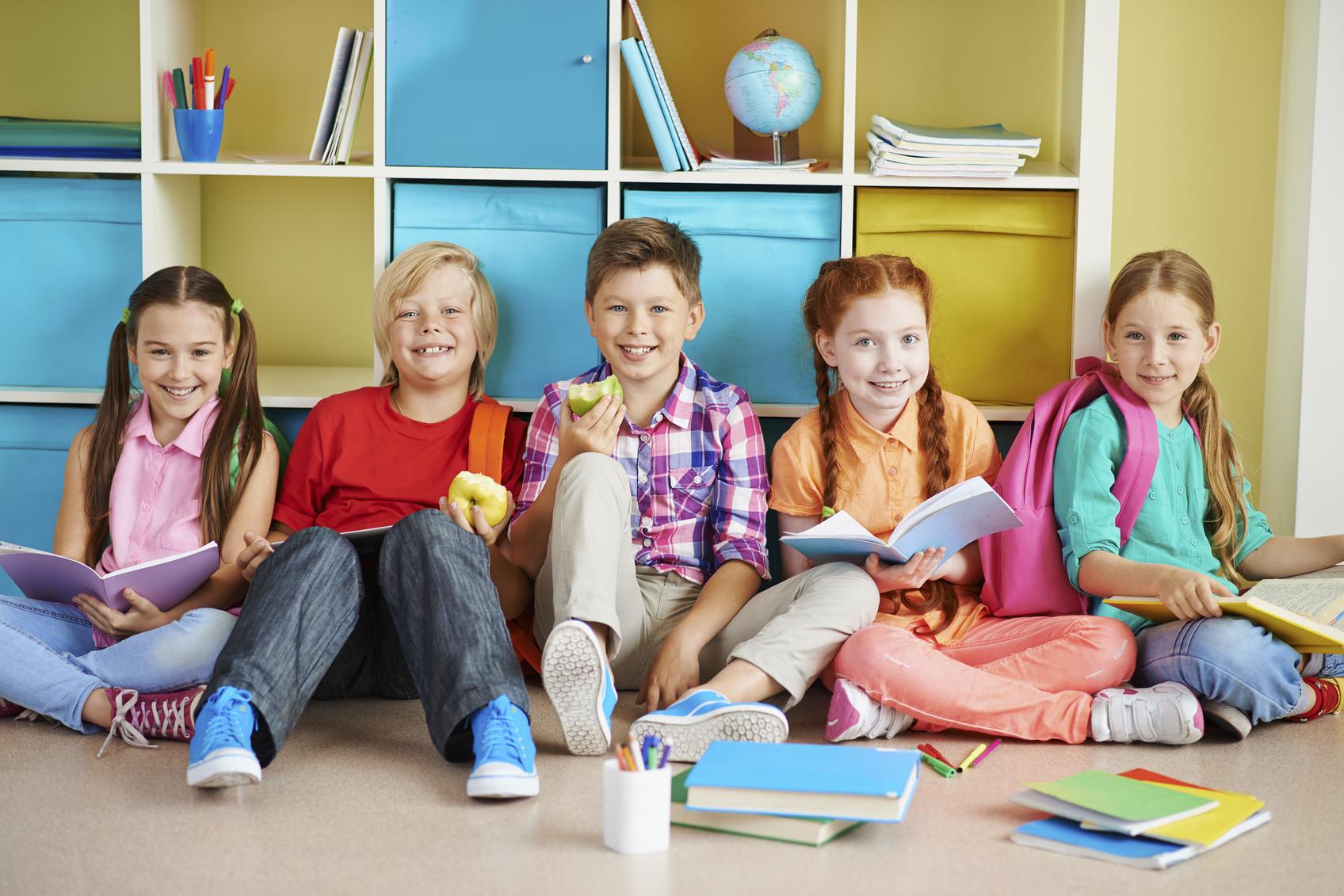 El temperamento de los niños en el colegio