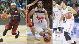Real Madrid, Barça y Baskonia buscan su sitio en la nueva Euroliga