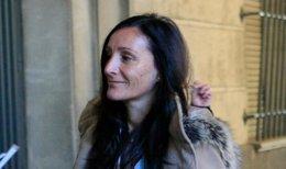 María Núñéz Bolaños llega a los juzgados de Sevilla