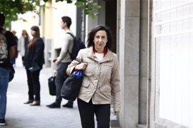 Margarita Robles no descarta dejar el Congreso si el PSOE se abstiene ante Rajoy