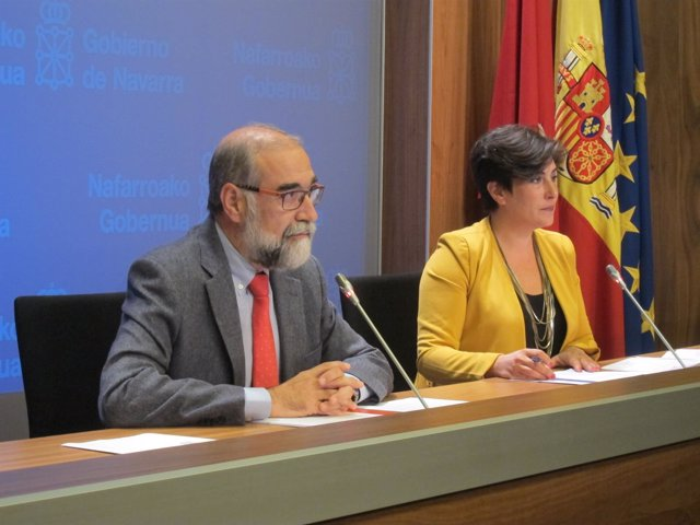 Fernando Domínguez y María Solana.