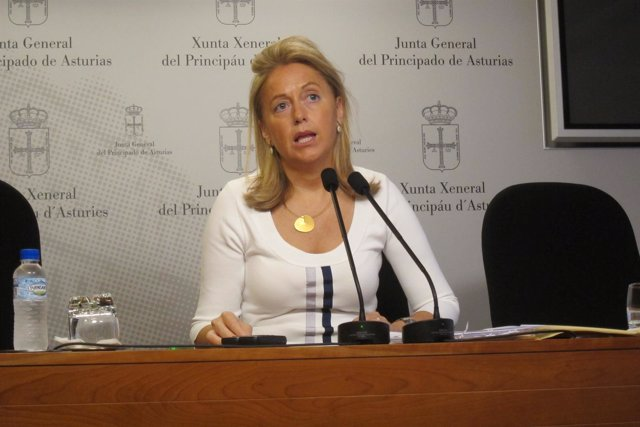 La presidenta de Foro, Cristina Coto.