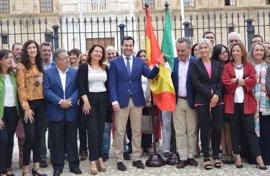 """Moreno defiende la unidad de España frente al """"populismo independentista catalán"""""""