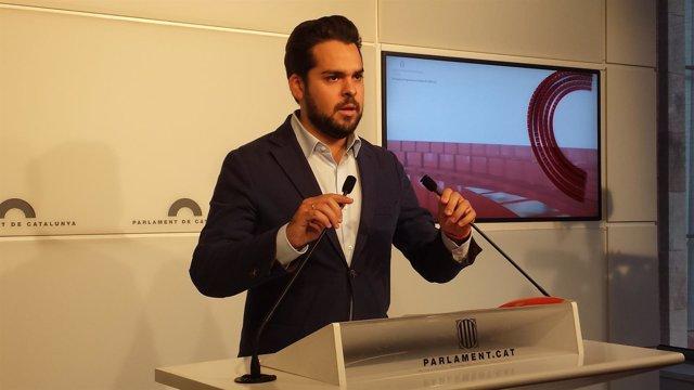 El secretario de comunicación de C's, Fernando de Páramo